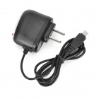 5V 1A US Plugss Carregador Mini USB para Tablet PC, Navegador GPS - Preto