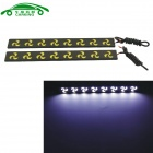CARKING 8W Firewheel Shaped COB Car Daytime Running Lights White 6000K 450lm (12V / 2 PCS)