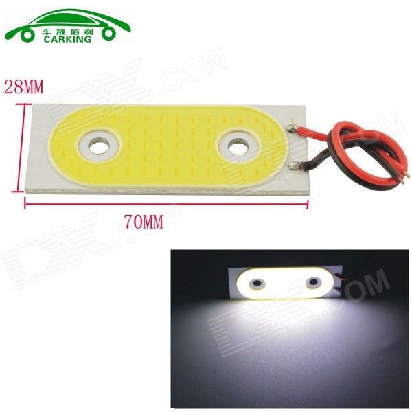 Carking 5W 6000K 450lm White Light 52-COB SMD LED Car Lamp