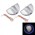 M002 DIY Universal 3W 30lm 3000K Warm White LED Car Door Projection Welcome Shadow Light Lamp (2PCS)