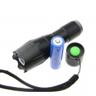 UltraFire A100 Camping Red Light 100lm 5-Mode Zooming Flashlight