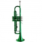 Buy LADE Green B Trumpet + Gloves Specification Set
