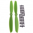 9045Nylon Props Propellers Blades CW / CCW - Green (Pair)