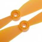 9045Nylon Props Propellers Blades CW / CCW - Yellow (Pair)
