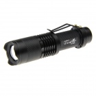 UltraFire 180lm XP-E Green Light 5-mode Zoomable LED Flashlight