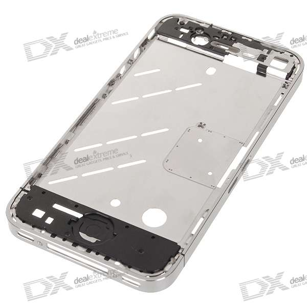 Genuine Repair Part Replacement Aluminum Middle Plate for Iphone 4