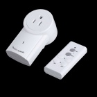 Wireless Remote Control Power Outlet Plug Socket w/ Switch for Lamps Household Appliances (120V)