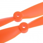 9045 Nylon CW & CCW Props Propellers Blades Aircraft - Orange (Pair)