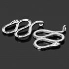 MOXO C7893 DIY Snake Style Iron Connection Toy - Silver (10PCS)
