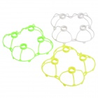 Replacement Protection Covers Set for Cheerson / WLtoys / JJRC Quadcopter - White + Green + Yellow