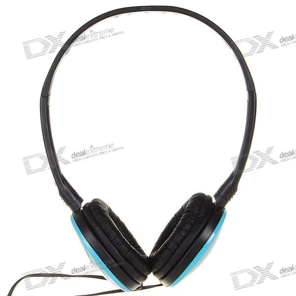 Sonun Stereo Headphone - Blue + Black (3.5mm Jack/120CM-Cable)