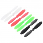 KH107C-008 Replacement Blades Set for Hubsan R/C Toys - White + Black