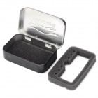 EDCGEAR Small Metal Storage Box Case for Cigarette - Black