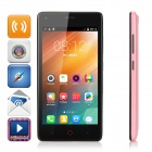 "MG9 Android 4.4 Quad-core 3G Phone w/ 4.5"" IPS, 4GB ROM, GPS, Dual Cam - White + Pink"