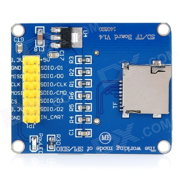 3,3 / 5В Micro SD / TF Card Reader Модуль