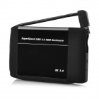 "USB 3.0 2.5"" SATA HDD Enclosure Case w/ Switch - Black"