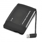 "USB 3.0 de 2,5 "" SATA HDD Case w / Switch - Negro"