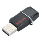 SanDisk Ultra 64GB Micro USB 3.0 OTG Flash Drive - Dark Red + Black