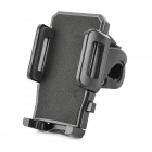 Motorcycle / Bicycle Cell Phone Mount Holder Stand Bracket for Samsung Galaxy S6 + More - Black