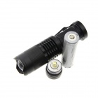 UltraFire XP-E R5 Blue 5-Mode 180lm Zooming Flashlight (1*18650)