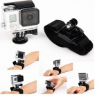 12-in-1 Sports Essentials Kit for GoPro HERO 4, 3+, 3, SJ4000 - Black