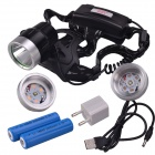 SingFire SF-648R 5V Red LED 3-Mode 200lm USB Hunting Headlamp
