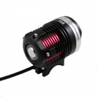 KINFIRE P08 1500lm 3-LED 4-Mode Cold White Bike Light Headlamp