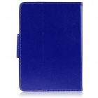 "ENKAY ENK-7040 PU Leather Case w/ Stand for 9"" Tablet - Dark Blue"
