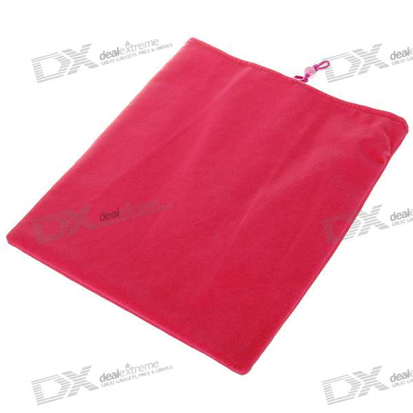 Protective Soft Cloth Case for   Ipad (Charming Pink)