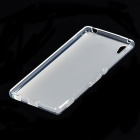 Simple Protective TPU Back Case for Sony Xperia Z4 - Translucent White