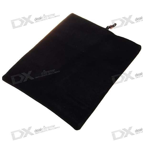 Protective Soft Cloth Case for   Ipad (Black)