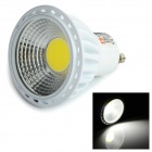 LeXing Lighting GU10 6W COB LED Dimmable Spotlight White 6500K 400lm - White (AC 220~240V)