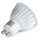 GU10 6W COB LED Dimmable Spotlight Cool White 400lm - White