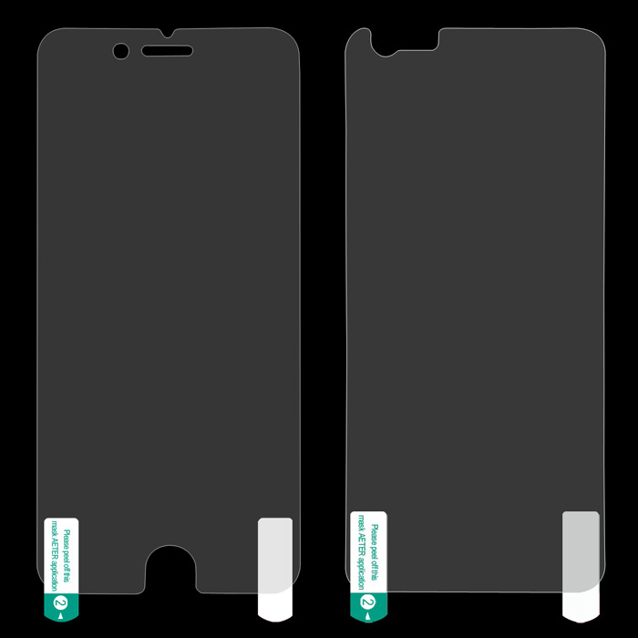 ENKAY HD Front and Back Protective PET Screen Protector for IPHONE 6 - Transparent