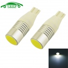 CARKING T15 1.5W COB Car License Plate Lights / Clearance Lamps White 6000K 230lm (12V / 2 PCS)