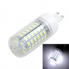 Marsing G56 G9 10W LED Corn Lamp Bluish White Light 800lm (220~240V)