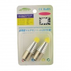 CARKING 1156 5W 6000K 450lm White Car Lamppu (12V / 2PCS)