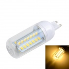 Marsing G50 G9 10W LED Light Lamp Warm White 3000K 800lm SMD 5730 - White + Yellow (AC 220~240V)