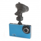 GT700B  2.7 Inch LCD Screen 3.0MP CMOS Full HD 1080P Car DVR - Blue + Black