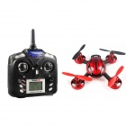 YU520 2.4GHz 4-CH RC Quadcopter w/6-Axis Gyro / Camera -Dull Red