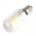 Zweihnder W169 E27 4W LED Filament Candle Bulb Warm White 3000K 380lm - Transparent (AC 220~240V)