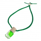 Bottle Type Fashion Perfume Car Ornaments - Green (Jasmine Flavor)