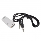 CY HD-154-WH HDMI to VGA F-F Converter for PC, Projector, Monitor