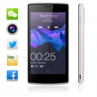 "Blackview Breeze MTK6582 Quad-core Android 5.0 WCDMA Bar Phone w/ 4.5"", FM, Wi-Fi and GPS - White"