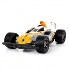 2.4GHz Remote Control Deformation High Speed Off-road RC Racing Car Toy - Yellow