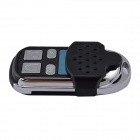 A007-433 433MHz 4-Key Universal Remote Key Anti-theft for Car - Black