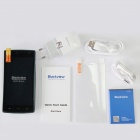 """Blackview Breeze MTK6582 Quad-core Android 4.4.2 WCDMA Bar Phone w/ 4.5"""" FM, Wi-Fi and GPS - Black"""