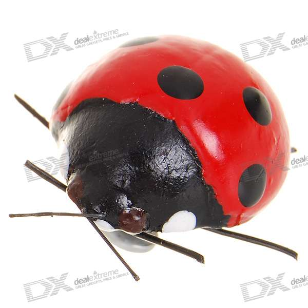 Ladybug Shaped Fridge Magnet - Small (Color Assorted)