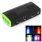 MiniFish A4S Multifunction Car Emergency 13800mAh Jump Starter Power Bank w/ LED Torch - Green