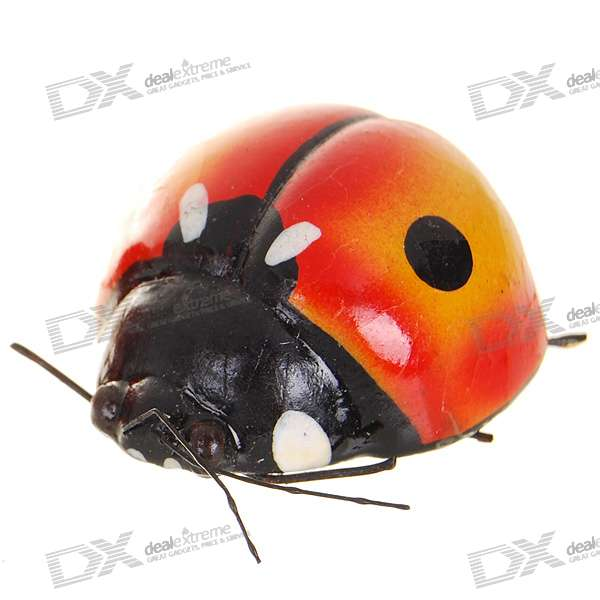 Ladybug Shaped Fridge Magnet - Mid (Color Assorted)